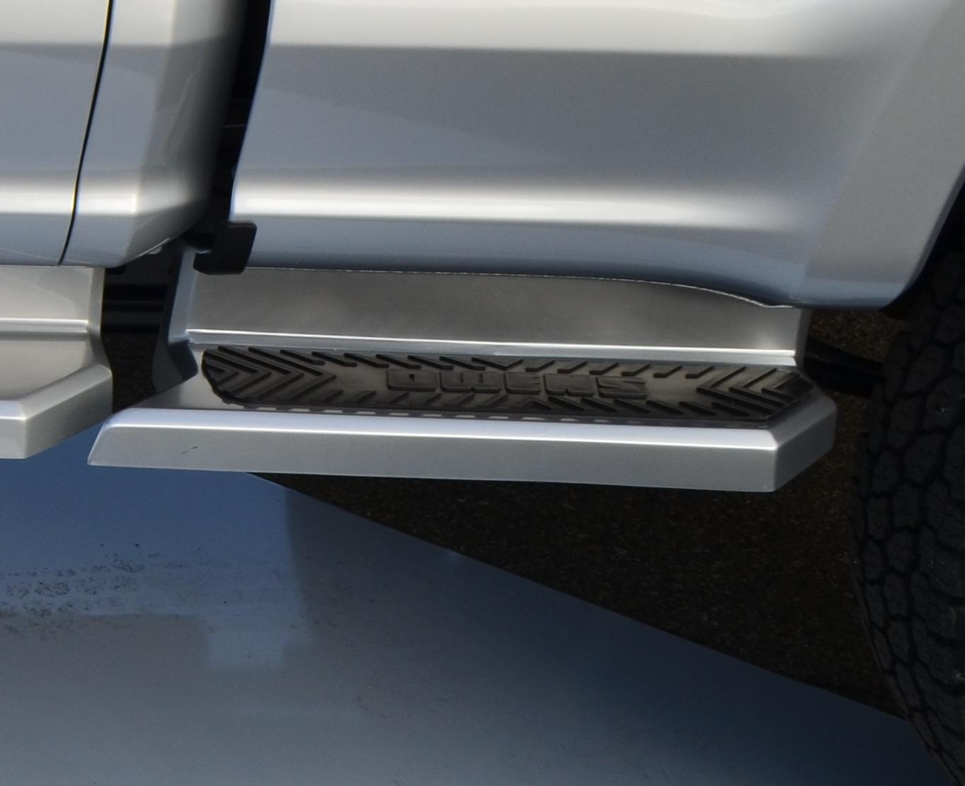 Running Boards Glastep Custom Molded Fiberglass 17-18 Ford