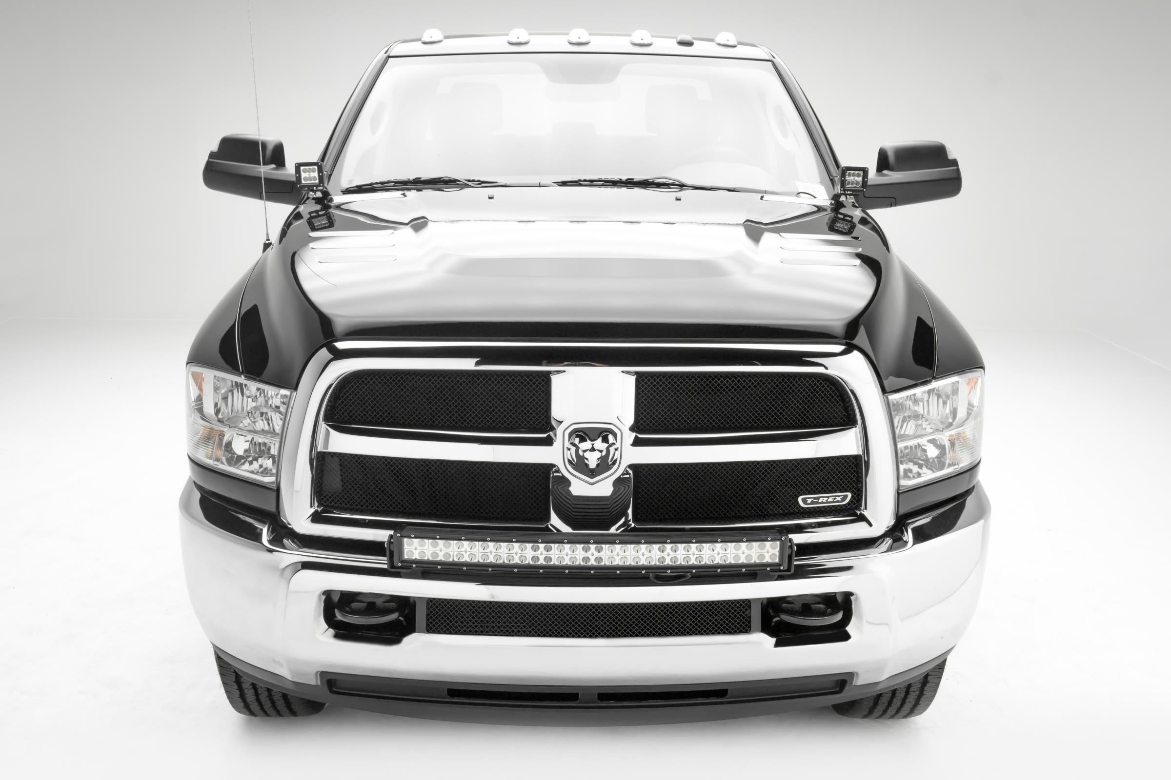 Front Bumper Top Led Light Bar Mount Kit 10 18 Dodge Ram 2500 3500 W Wiring Harness View The Full Image