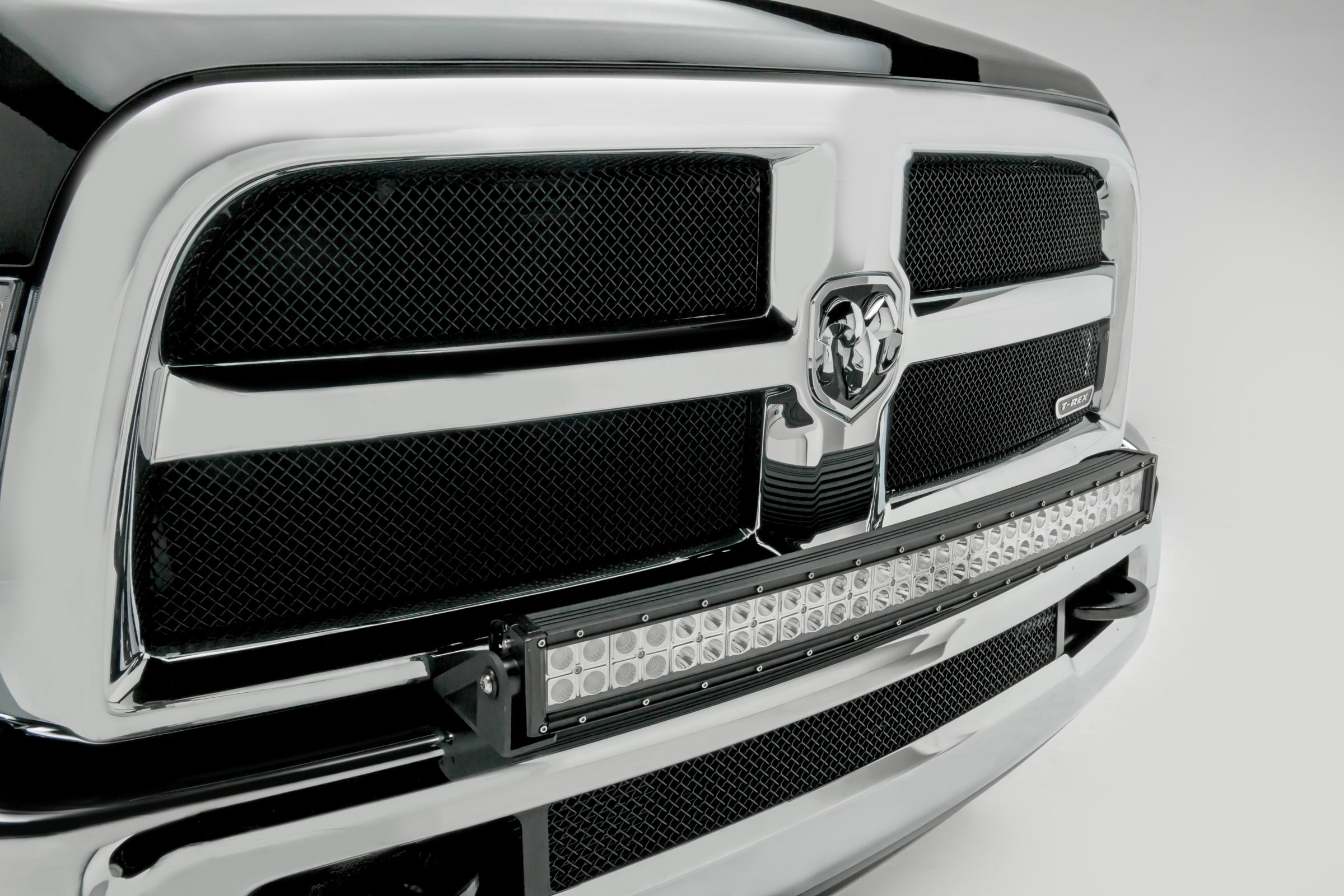 Front Bumper Top Led Light Bar Mount Kit 10 18 Dodge Ram 2500 3500 W Nitro Tow Wiring View The Full Image