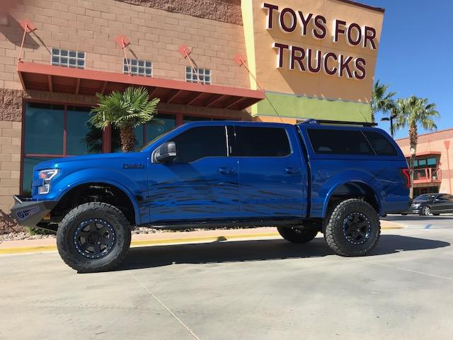 The Snugtop Sema Build 2017 Ford F 150 4wd Bds Suspension Toys