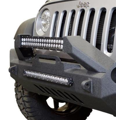 Jeep JK Front Bumper w/Fog Light Holes FS-17 07-18 Wrangler JK Steel